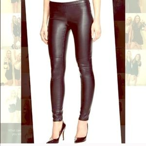 Micheal Kors Faux leather pants size 4